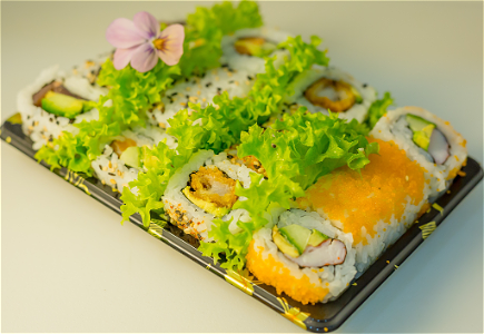 Foto Uramaki Jumbo Mini Box 1, 16 st