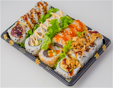 Foto Uramaki Jumbo Mini Box 2, 16 st