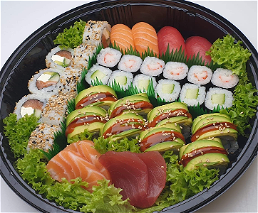 Foto  Sushi box For You  ( 38 stuks )